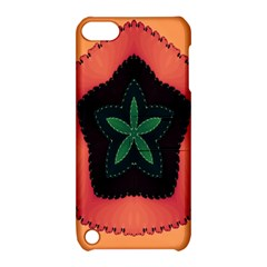 Fractal Flower Apple iPod Touch 5 Hardshell Case with Stand