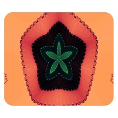 Fractal Flower Double Sided Flano Blanket (Small)