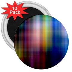 Colorful Abstract Background 3  Magnets (10 Pack)  by Simbadda