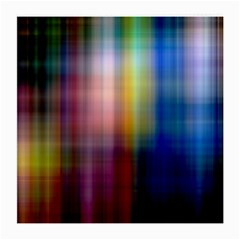 Colorful Abstract Background Medium Glasses Cloth (2 Side)