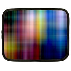 Colorful Abstract Background Netbook Case (large) by Simbadda
