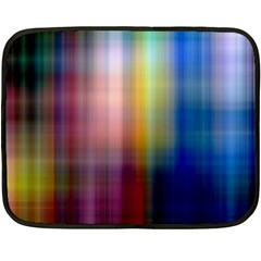 Colorful Abstract Background Double Sided Fleece Blanket (mini)  by Simbadda