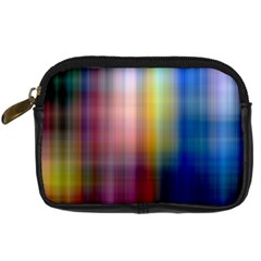 Colorful Abstract Background Digital Camera Cases by Simbadda