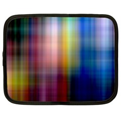 Colorful Abstract Background Netbook Case (xxl)