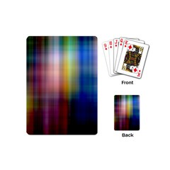 Colorful Abstract Background Playing Cards (mini)