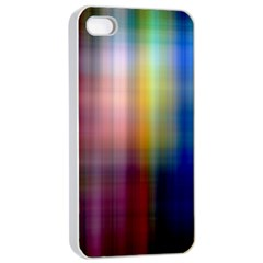 Colorful Abstract Background Apple Iphone 4/4s Seamless Case (white) by Simbadda