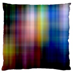 Colorful Abstract Background Large Cushion Case (two Sides) by Simbadda