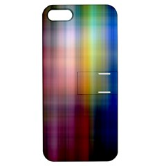 Colorful Abstract Background Apple Iphone 5 Hardshell Case With Stand by Simbadda