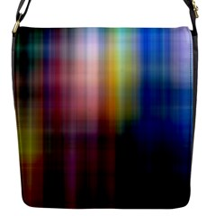 Colorful Abstract Background Flap Messenger Bag (s) by Simbadda