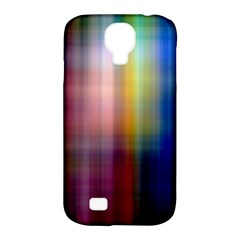 Colorful Abstract Background Samsung Galaxy S4 Classic Hardshell Case (pc+silicone) by Simbadda