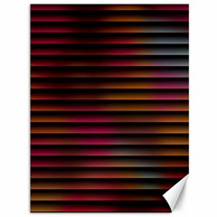 Colorful Venetian Blinds Effect Canvas 36  X 48   by Simbadda