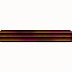 Colorful Venetian Blinds Effect Small Bar Mats by Simbadda