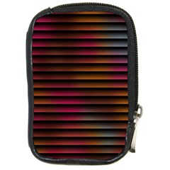 Colorful Venetian Blinds Effect Compact Camera Cases by Simbadda