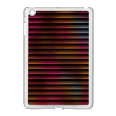 Colorful Venetian Blinds Effect Apple Ipad Mini Case (white) by Simbadda