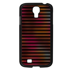Colorful Venetian Blinds Effect Samsung Galaxy S4 I9500/ I9505 Case (black) by Simbadda