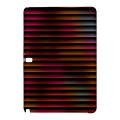 Colorful Venetian Blinds Effect Samsung Galaxy Tab Pro 12 2 Hardshell Case