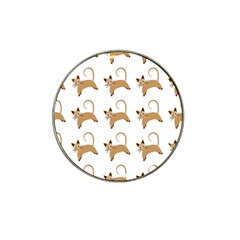 Cute Cats Seamless Wallpaper Background Pattern Hat Clip Ball Marker (4 Pack) by Simbadda