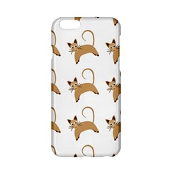 Cute Cats Seamless Wallpaper Background Pattern Apple Iphone 6/6s Hardshell Case