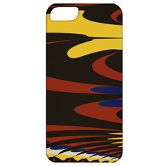 Peacock Abstract Fractal Apple Iphone 5 Classic Hardshell Case by Simbadda