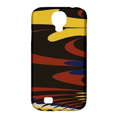 Peacock Abstract Fractal Samsung Galaxy S4 Classic Hardshell Case (pc+silicone) by Simbadda
