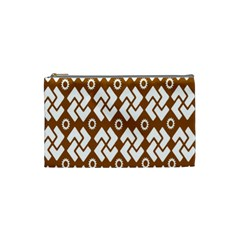 Art Abstract Background Pattern Cosmetic Bag (small)  by Simbadda