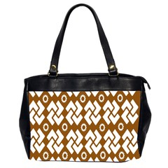 Art Abstract Background Pattern Office Handbags (2 Sides)  by Simbadda