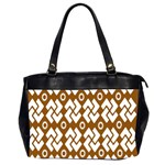 Art Abstract Background Pattern Office Handbags (2 Sides)  Front