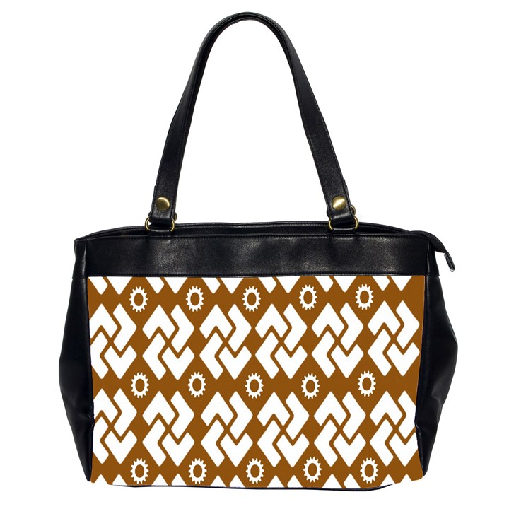 Art Abstract Background Pattern Office Handbags (2 Sides)