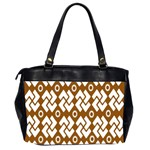 Art Abstract Background Pattern Office Handbags (2 Sides)  Back