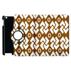 Art Abstract Background Pattern Apple Ipad 2 Flip 360 Case by Simbadda