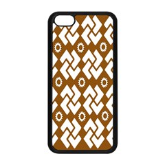 Art Abstract Background Pattern Apple Iphone 5c Seamless Case (black) by Simbadda