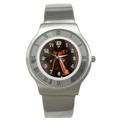 Count Vlad Dracula Stainless Steel Watch