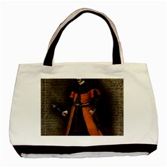 Count Vlad Dracula Basic Tote Bag (two Sides) by Valentinaart
