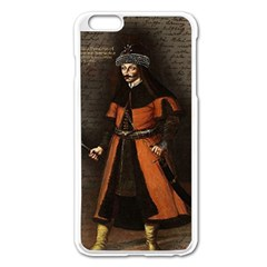 Count Vlad Dracula Apple Iphone 6 Plus/6s Plus Enamel White Case