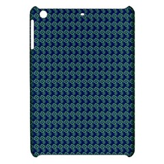 Clovers On Dark Blue Apple Ipad Mini Hardshell Case by PhotoNOLA