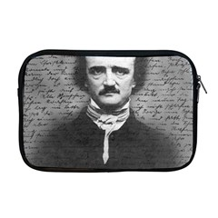 Edgar Allan Poe  Apple Macbook Pro 17  Zipper Case by Valentinaart