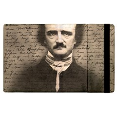 Edgar Allan Poe  Apple Ipad 2 Flip Case by Valentinaart