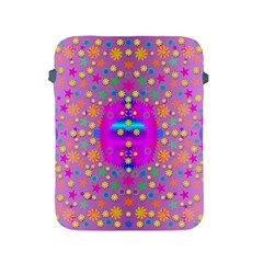 Colors And Wonderful Flowers On A Meadow Apple Ipad 2/3/4 Protective Soft Cases by pepitasart