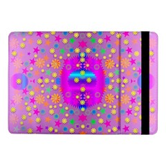 Colors And Wonderful Flowers On A Meadow Samsung Galaxy Tab Pro 10 1  Flip Case by pepitasart