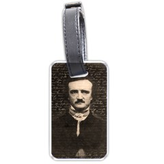 Edgar Allan Poe  Luggage Tags (one Side)  by Valentinaart