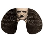 Edgar Allan Poe  Travel Neck Pillows Back