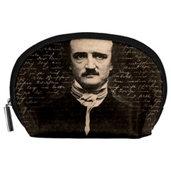 Edgar Allan Poe  Accessory Pouches (large)  by Valentinaart
