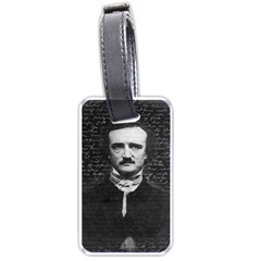 Edgar Allan Poe  Luggage Tags (two Sides) by Valentinaart