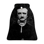 Edgar Allan Poe  Bell Ornament (Two Sides) Back