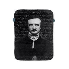 Edgar Allan Poe  Apple Ipad 2/3/4 Protective Soft Cases by Valentinaart