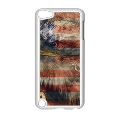 Vintage Eagle  Apple Ipod Touch 5 Case (white) by Valentinaart
