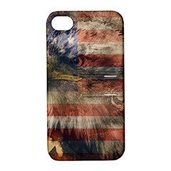 Vintage Eagle  Apple Iphone 4/4s Hardshell Case With Stand