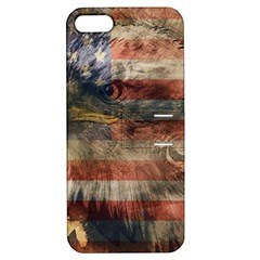 Vintage Eagle  Apple Iphone 5 Hardshell Case With Stand by Valentinaart