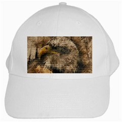 Vintage Eagle  White Cap by Valentinaart