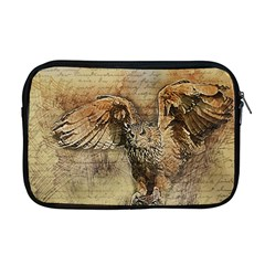 Vintage Owl Apple Macbook Pro 17  Zipper Case by Valentinaart